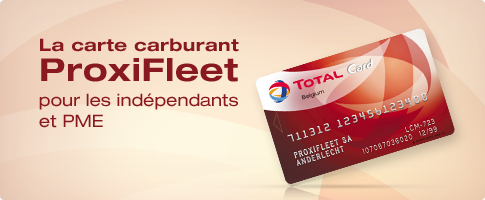 Proxifleet: carte carburant total