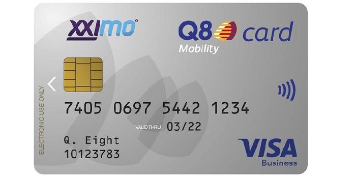 Carte Q8 : Mobility Card