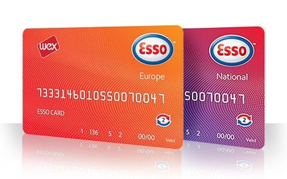 carte carburant Esso