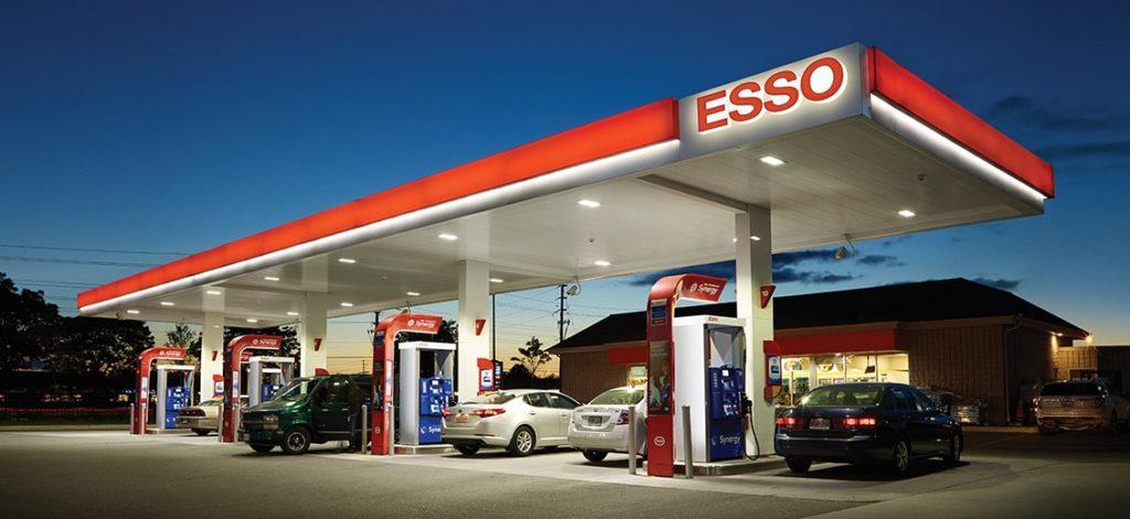 carte carburant Esso