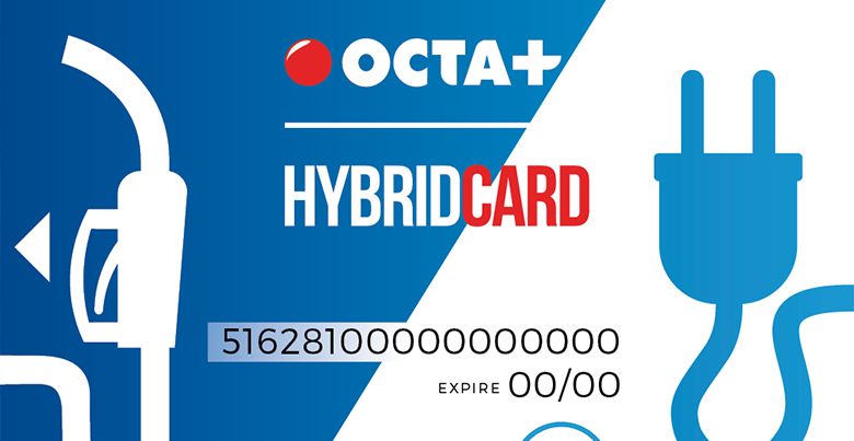 Carte Carburant Octa + Hybride