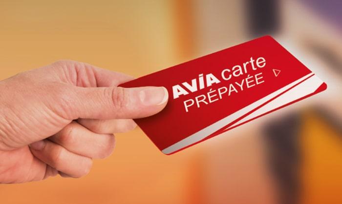 carte carburant prépayée de la marque Avia