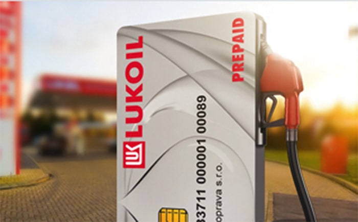 carte carburant prépayée Lukoil