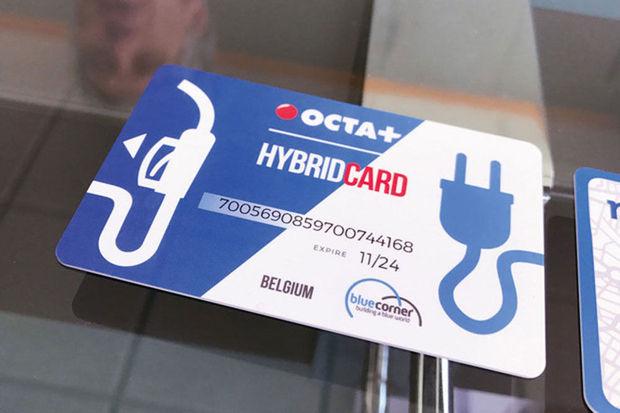 carte hybride en tant que carte essence